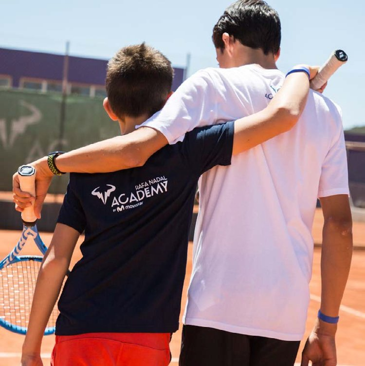 Rafa Nadal Academy USA - Building a Champion #rnavalues